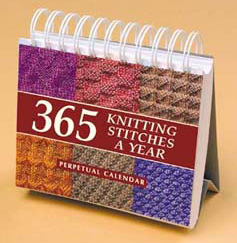 365 Knitting Stitches a Year Perpetual Calendar