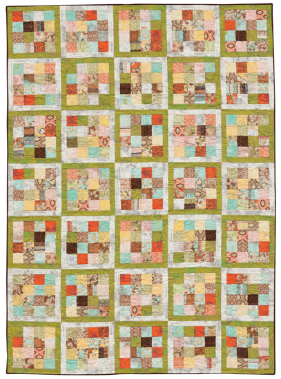 Roll of Stamps quilt