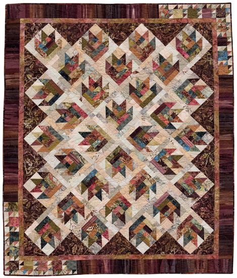 Woodland Sunset quilt
