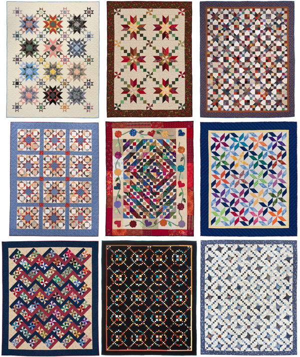Quilts from Crazy for Scraps