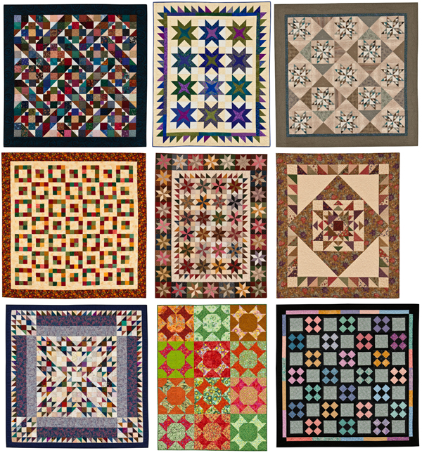 Quilts from S is for Scraps