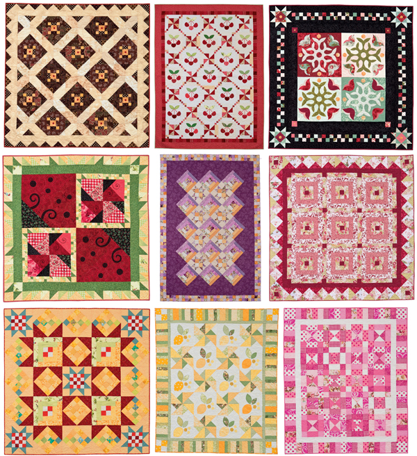 Quilts from Spotlight on Scraps