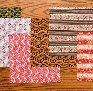 Iron every quilt scrap you save
