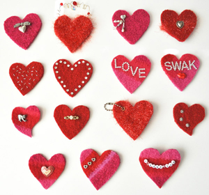 7 Quick Projects For Valentine S Day Stitch This The Martingale Blog