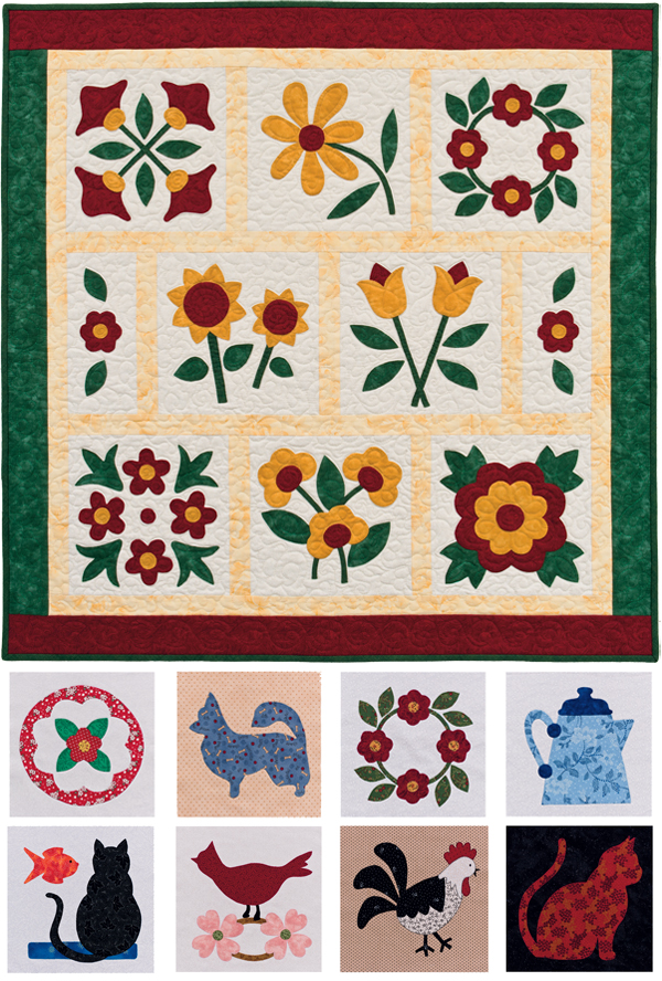 Fabric fusing: the easiest appliqué method? - Stitch This! The ... : easy applique quilts - Adamdwight.com
