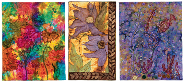 Gallery quilts from Bold and Beautiful