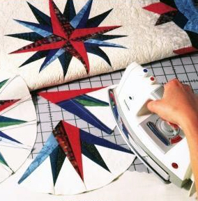 How to press quilt seams