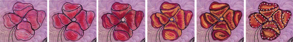 Painting your art quilt