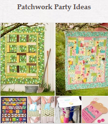Patchwork Party Ideas on Pinterest