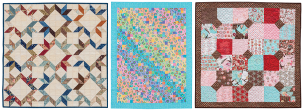 Projects from Cheerful Charm Quilts