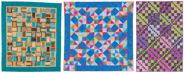 Projects from Fast Fat-Quarter Quilts