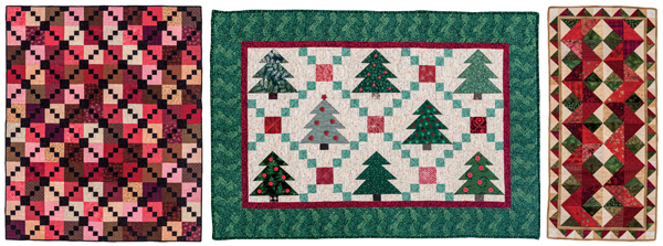 Projects from Holiday Cheer Quilts