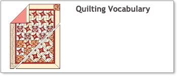 Quilting vocabulary free eBooklet