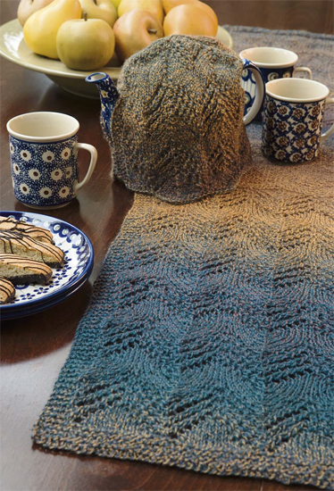 Time for Tea Table Runner and Tea Cozy by Ava Coleman