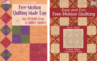 Free-motion quilting books