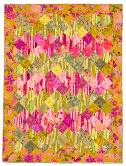 Garden Tropics from SuperStrata Quilts
