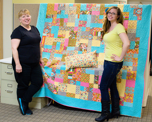 Linda's quilt for her daughter