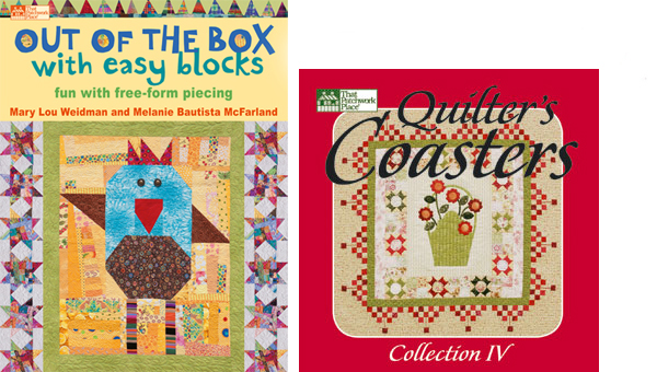 Out of the Box with Easy Blocks and Quilter's Coasters