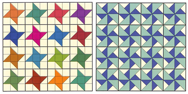 How to design quilt patterns: quilt settings - Stitch This! The ... : traditional quilt block patterns - Adamdwight.com
