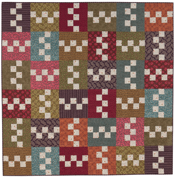 Free patchwork download from Kim Diehl - Stitch This! The ... : quilt patterns free download - Adamdwight.com