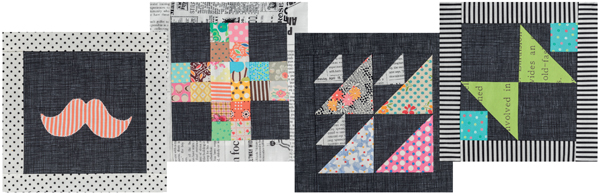 Patterns from 25 Patchwork Quilt blocks