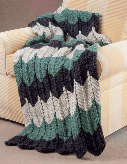 Hot new trend in home decor: knitted blankets - Stitch This! The Martingale Blog