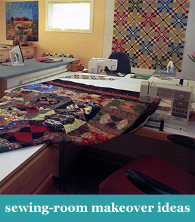 Sewing-room makeover ideas
