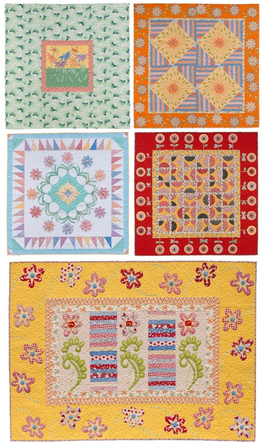 More quilts from Quilting Those Flirty '30s
