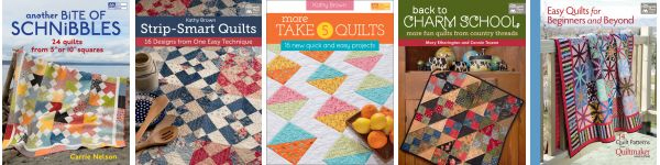 Quick-quilt eBooks--$9.99 or less