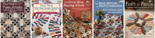 Traditional-quilt eBooks--$9.99 or less