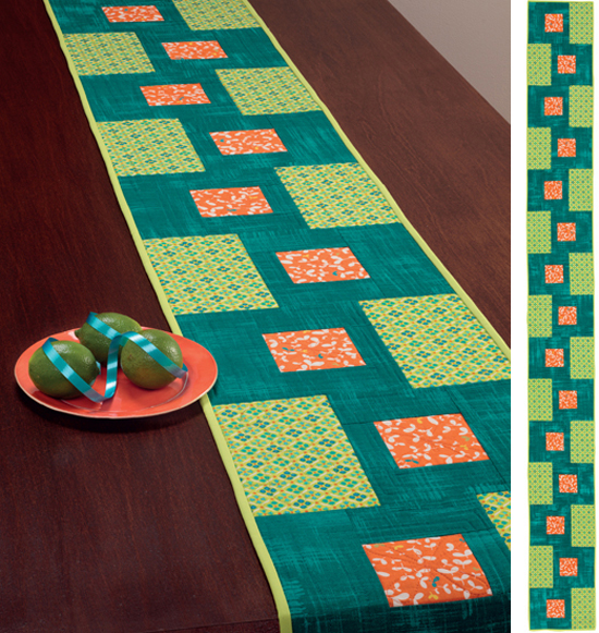 Classic To Modern Table Runner Patterns Giveaway