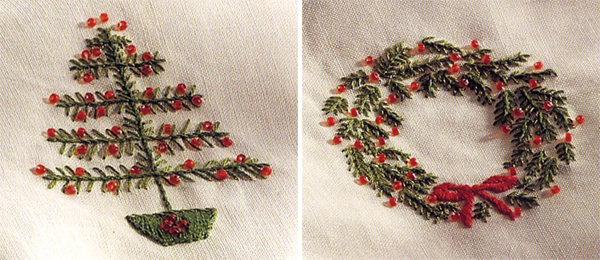 A Free Christmas Pattern Quick Embroidery 4 Quilts Stitch