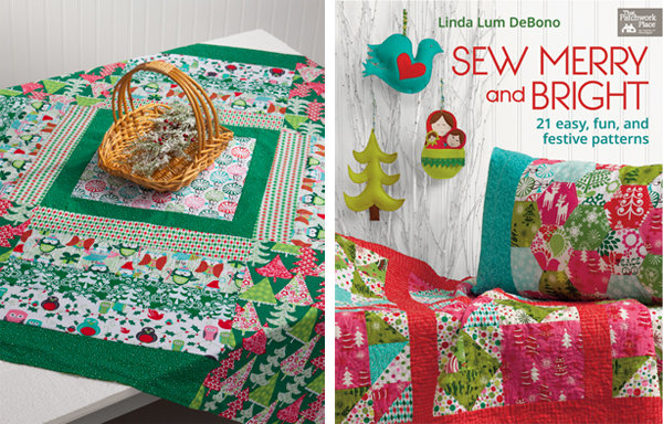 Free Christmas pattern from Sew Merry and Bright