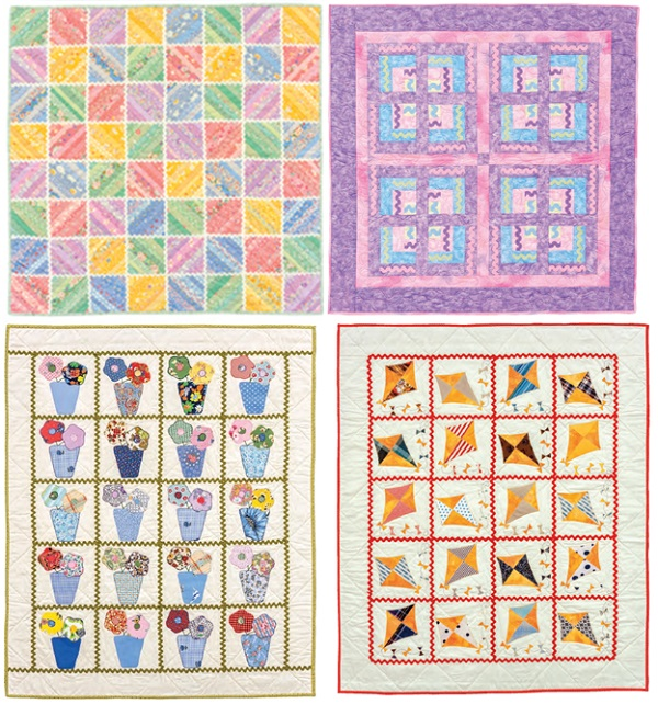 Quilt Patterns Using Large Scale Prints : Bust your stash with baby quilts - Stitch This! The Martingale Blog