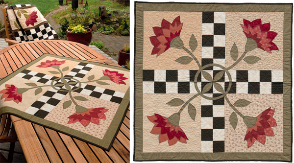 Welcome to quilt country: creating a rustic look - Stitch This ... : quilted table toppers - Adamdwight.com