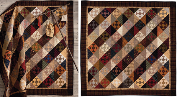 Welcome to quilt country: creating a rustic look - Stitch This ... : country quilts patterns - Adamdwight.com