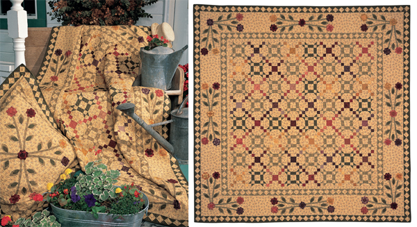 Romance and Roses quilt