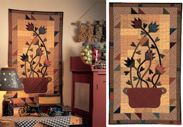 Pleasantly Primitive quilt