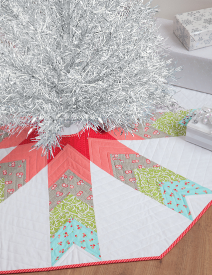 Skirted Christmas tree skirt
