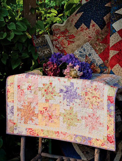 Spin City small quilt