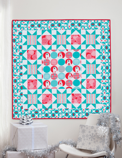 Seeing Stars Christmas quilt