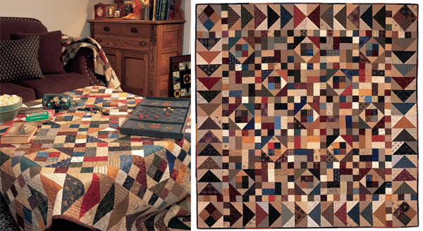 Bricks and Stones quilt