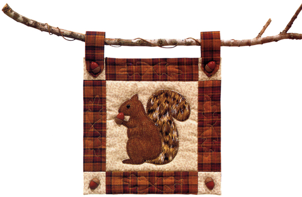 Squirrel Mini Wall Hanging