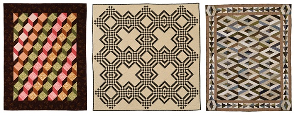 Geometric quilts for men
