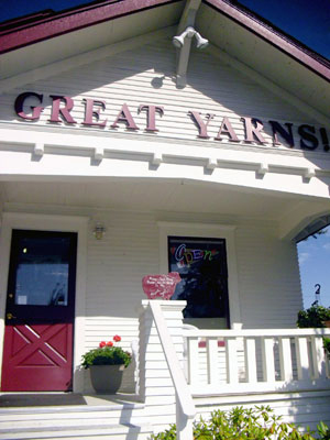 Great Yarns--one of our local yarn shops!