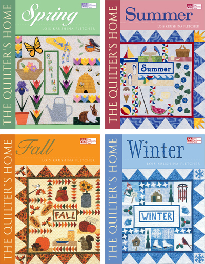 The Quilter's Home eBook series