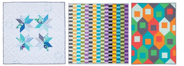 Quilts for Little Men from Modern Baby 2