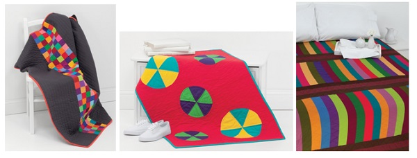 Quilts for Little Men from Solids Stripes Circles and Squares 4