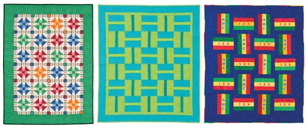 Quilts for Little Men from The Big Book of Baby Quilts