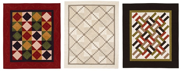 Quilts for men from 5 fabrics 2
